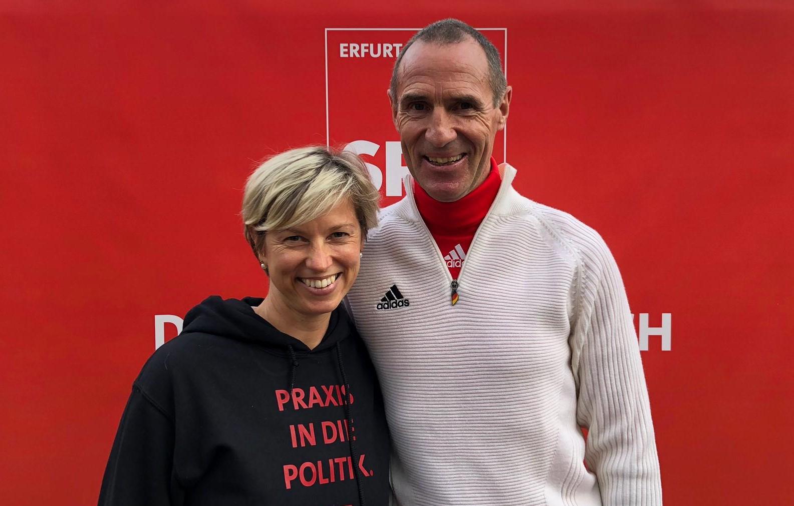 Wahlkampf mit Frank Ullrich