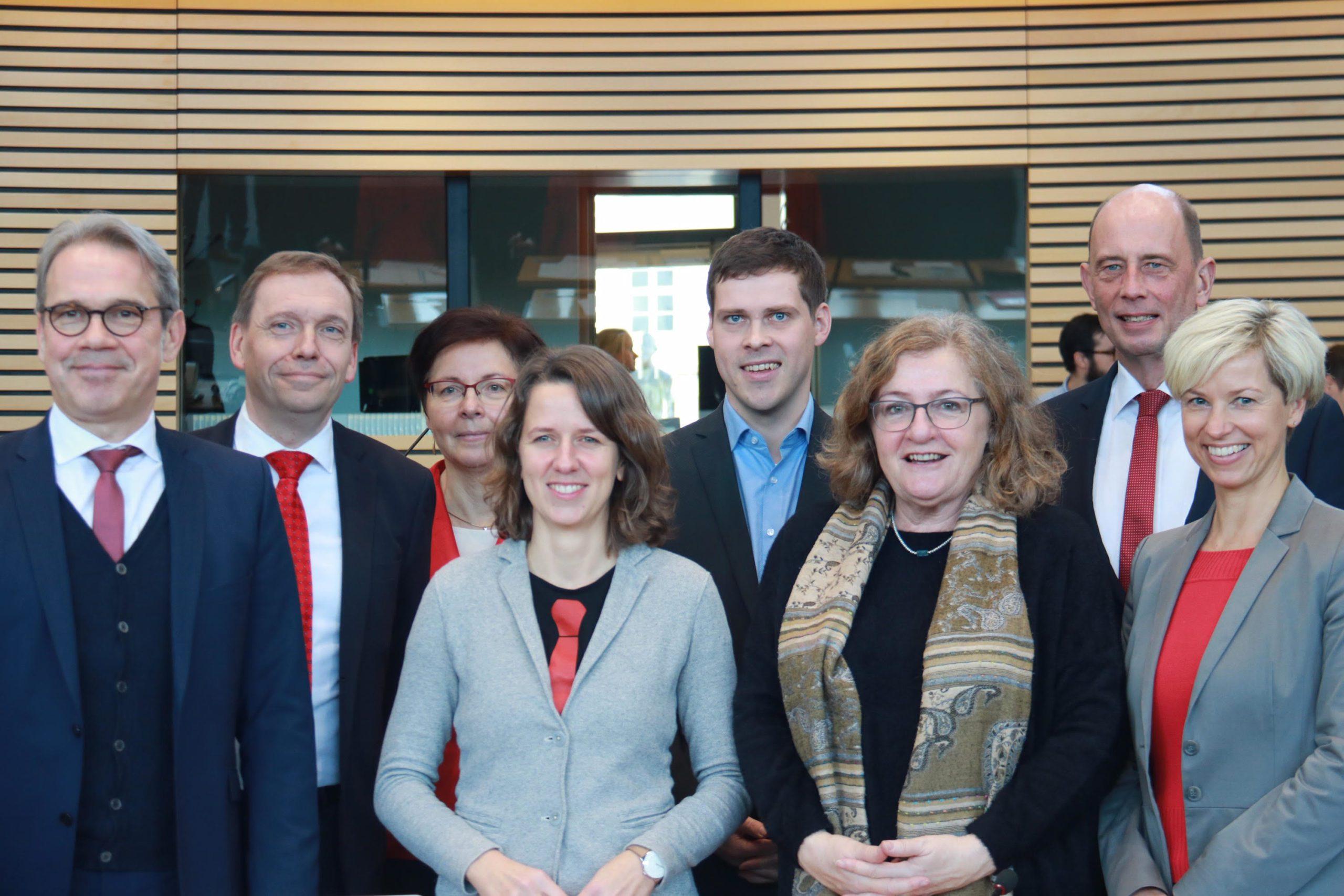 Erste Sitzung des Landtags