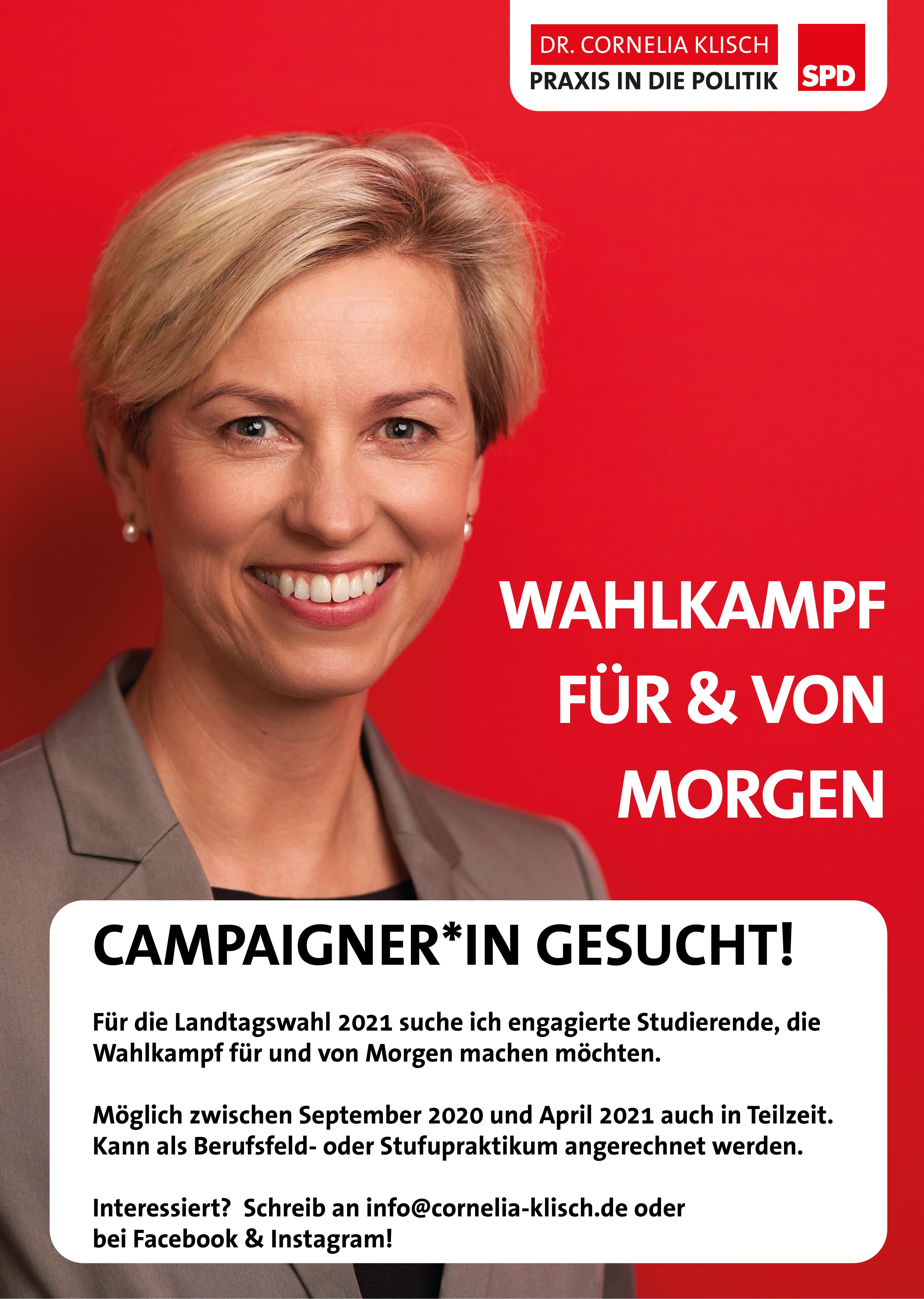 Werdet Campaigner*innen!