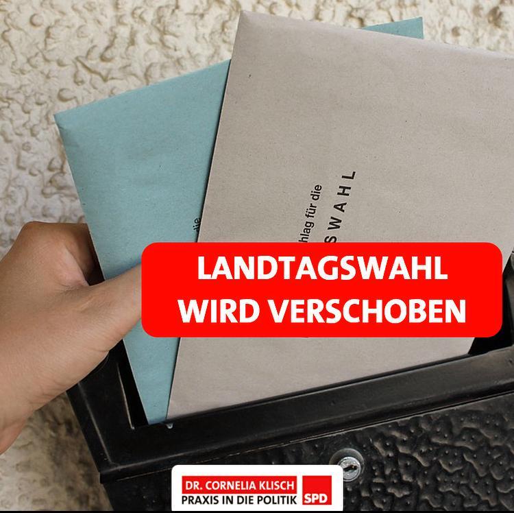 Verschiebung der Landtagswahl auf 26. September 2021