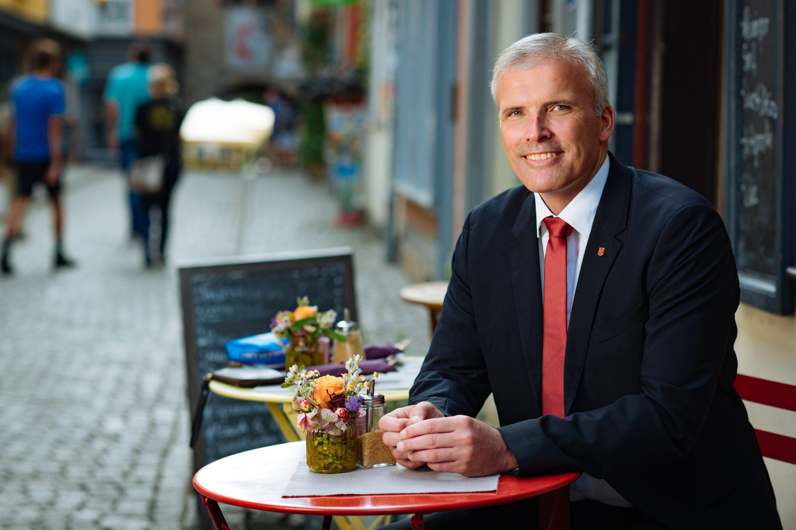 Interview mit Andreas Bausewein zur Buga21