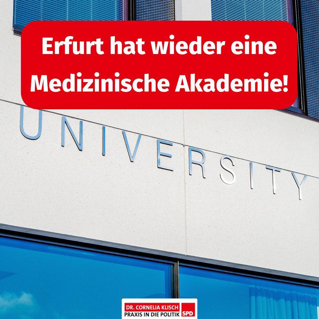 Erfurt hat wieder eine Medizinische Akademie